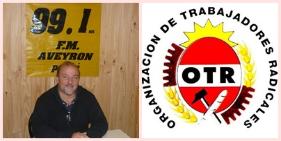 Jorge Almandoz: Radicales Radicales organiza jornada con la Org. de Trabajadores Radicales