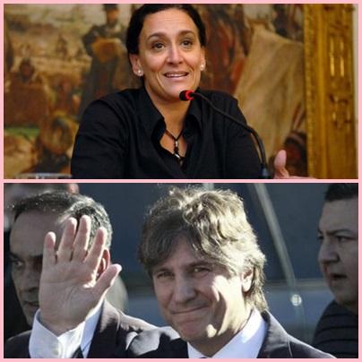 """Gabriela Michetti: """"Los 2035 nombramientos de Amado Boudou eran una bomba para el Senado"""""""