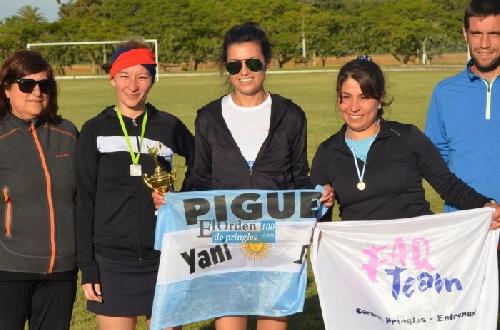 Atletismo - Yani Clair ganó en Pringles y se adjudicó el Torneo Cross de dicha ciudad.