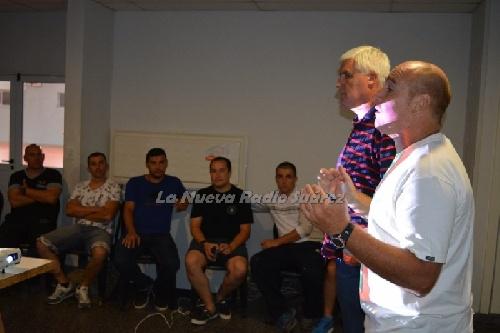 Los árbitros de la Liga comenzaron hoy a capacitarse en Coronel Suárez.