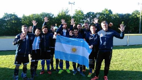 La Selección Argentina de fútbol para ciegos campeón en Alemania