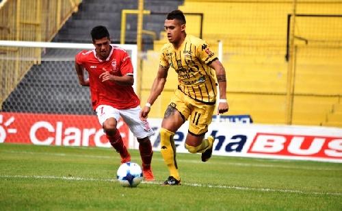AFA - Reserva -  Olimpo empató con Huracán en el día de ayer y el pigüense Nicolás Cabral ingresó en el 2° Tiempo.