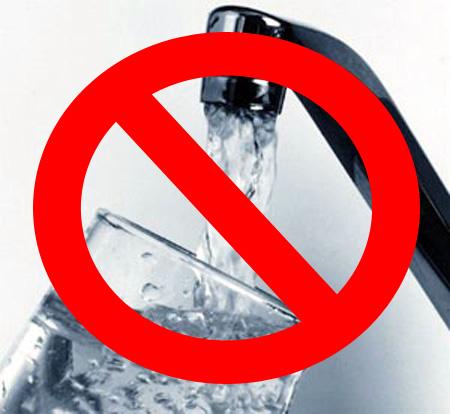 Cortes del servicio de provisión domiciliaria de agua