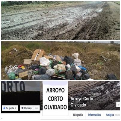 Vecinos de Arroyo Corto hacen público en facebook su enfrentamiento - Arroyo Corto Olvidado versus Arroyo Corto es de todos