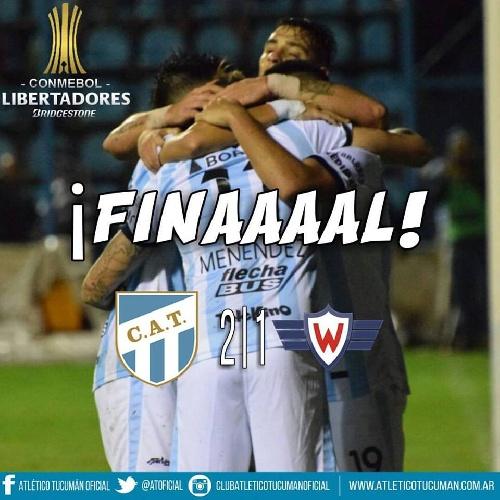 Copa Libertadores - Atlético Tucumán ganó su primer juego del torneo y piensa en la clasificación.