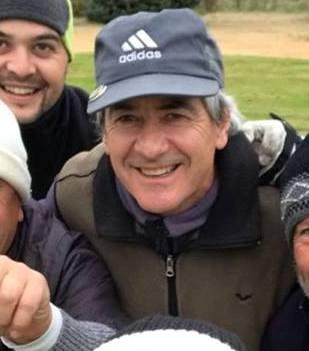 Golf - Aller e Hirigoyen los ganadores de la Peña Hierro 5 en el club local.