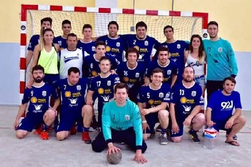 Handball Masculino - Club Sarmiento suma su 2da victoria consecutiva en el Nacional de San Juan.