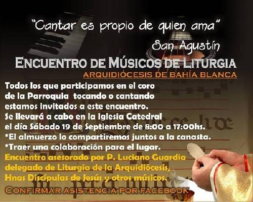 Encuentro de música litúrgica