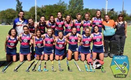 Hockey Femenino - El Cef 83 goleó a Club de Pelota en 7ma división.