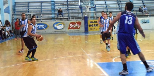 Basquet Valle Inferior - Derrota de Jorge Newbery con Fiorido como entrenador ante Sol de Mayo.