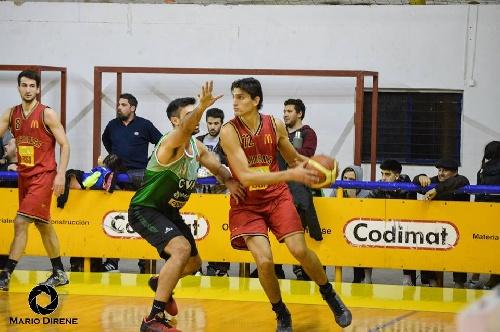 Basquet Bahiense - Gran triunfo de Bahiense del Norte sobre Villa Mitre - 11 puntos de Silva.