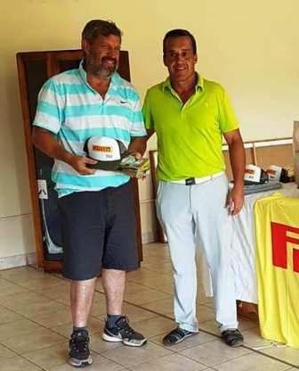Golf - Fernando Bozbranny y Horacio Meder ganadores en el club local.