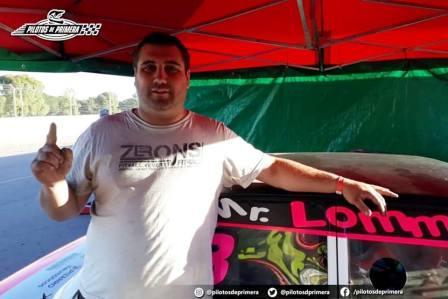 GTC - Hernán Mayer se quedó con el mejor tiempo en el Ciudad de Pigüé.