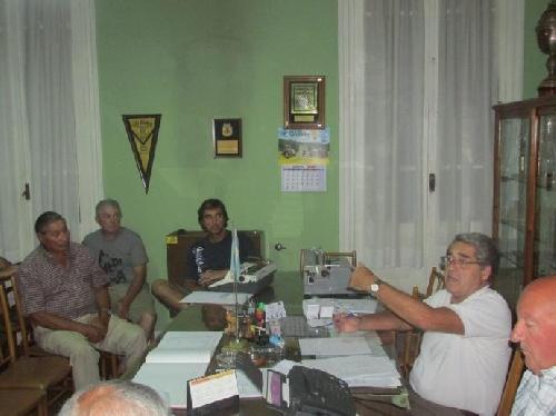 LRF - Reunión del día viernes en la Liga Regional.