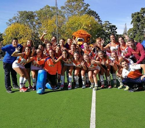 Hockey Femenino - Bahía Blanca en Damas con la conducción técnica de Berlatto ganó el bronce en San Rafael.