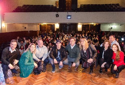 Balbín presentó en Bahía y Dorrego el Programa de Convivencia Escolar