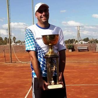 Tenis - Matías Martínez logró coronarse Campeón del Ranking Provincial del Oeste.