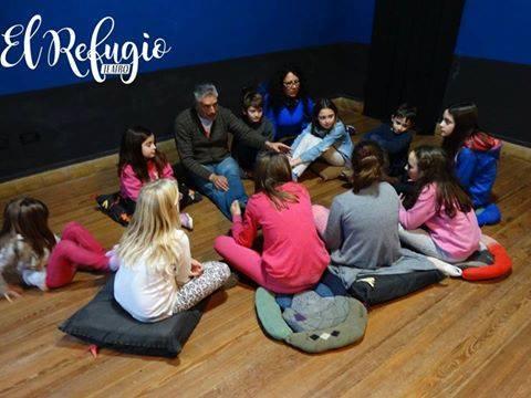 El Refugio inscribe para teatro infantil