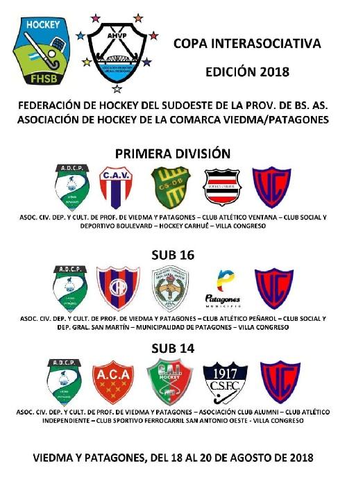 Hockey Femenino - Peñarol en Sub 16 participará en Agosto de un Torneo Interasociaciones.