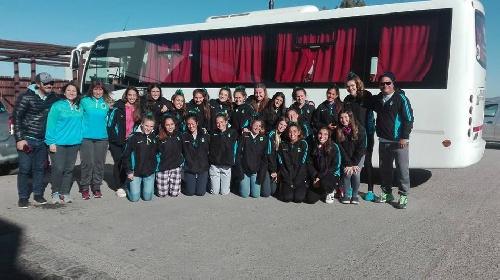 Hockey Femenino - El Sub 14 de la Asociación ya está en viaje a Mar del Plata.