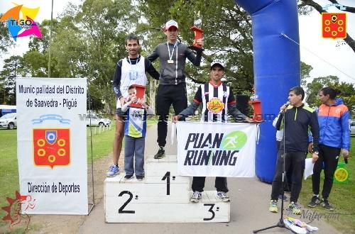 Atletismo - Sebastian Cabrera se quedó con el 1° puesto de los 8k Cross en Pigüé.