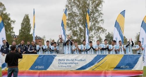 La selección argentina de fútbol con discapacidad intelectual salió subcampeona Mundial