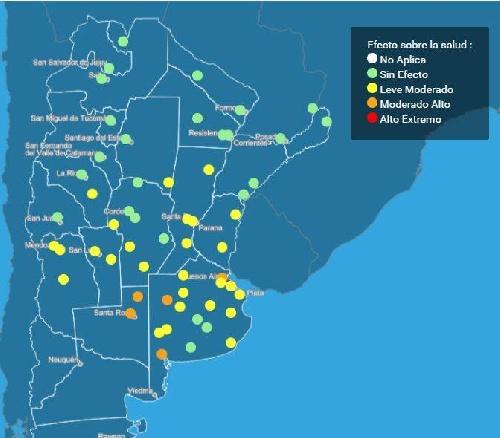 SMN:  Alertas y Cuidadados por Ola de Calor y Salud