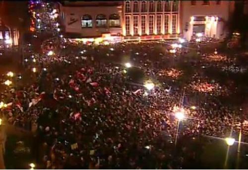 Grave: Dura represión a marcha pacifica en Tucumán