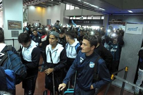 Copa Libertadores - Atlético Tucumán concentrado en San Pablo - Leo González será titular ante el Palmeiras.