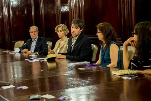 Reunión con asociaciones de periodistas y medios por la Ley de Acceso a la Información Pública