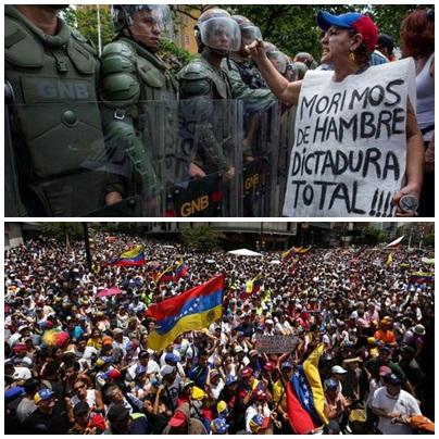 VENEZUELA: La represión criminal del dictador Maduro aumenta a 26 la cifra de asesinados en 4 días de protestas