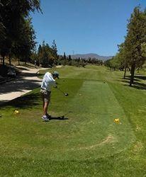 Golf - Eric Simon y Alejandro Moggia los ganadores del mensual en el Pigüé Golf.