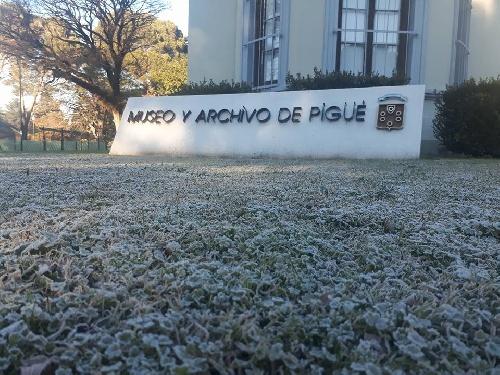Mañana helada en Pigüé