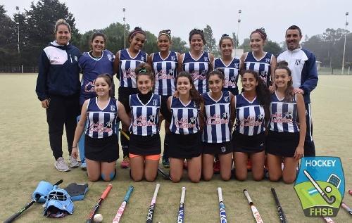 Hockey Femenino - En Sub 16, Sarmiento venció a Barrio Norte en su partido final.