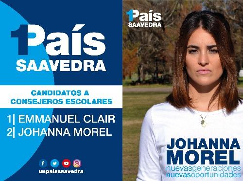1PAIS: Johanna Morel reclama por millones sin usar y rendiciones de fondos educativos sin presentar