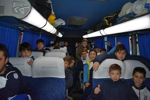 Rugby Infantil - Club Sarmiento en La Plata participa de un encuentro institucional.