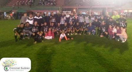 Fútbol del Recuerdo - Blanco y Negro se proclamó Campeón de la 24ta edición.