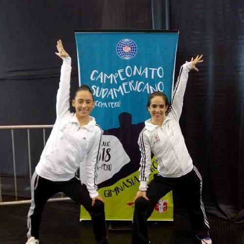 Gimnasia Aeróbica - Clara Schmidt finalizo 4ta en el Sudamericano de Lima.