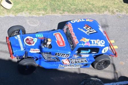 TC del 40 Sudeste - Ruben Guarino ganó la 1ra clasificación en Tres Arroyos.