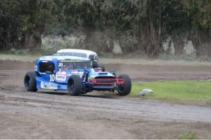 TC del 40 Sudeste - Guarino el mas rápido del sábado en Laprida.