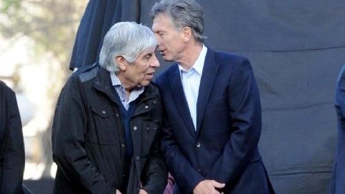 """ANSIAS GOLPISTAS EN BUSCA DE IMPUNIDAD, según Hugo Moyano """"Al gobierno le queda poco tiempo"""""""