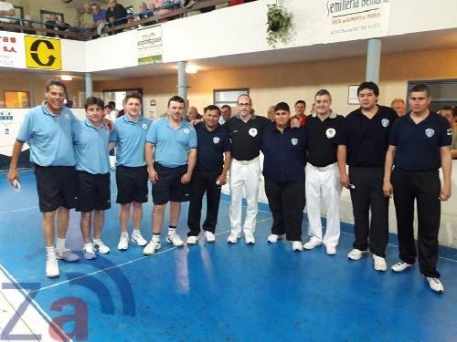 Bochas Provincial de Tercetos - Zárate campeón provincial venciendo a Bahía Blanca en la final.