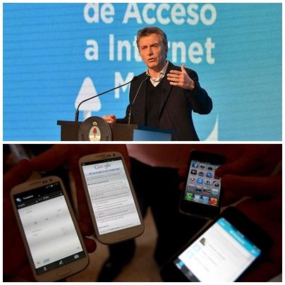 Internet  Federal: plan para comprar celulares con 4G por 2.200 pesos ,en 12 cuotas