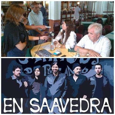 La Mancha de Rolando, la diputada Merquel, el intendente Corvatta, Garcia de CN23 y Saavedra