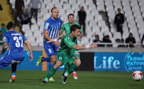 Futbol Chipriota - Empate del Omonia ante el Anorthosis - Leandro González ingresó en el complemento.