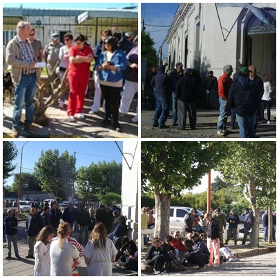 Pigüé: continúa el paro de municipales