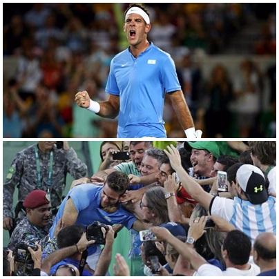 Río 2016: Del Potro vence a Nadal en épico partido y avanza a la final olimpica