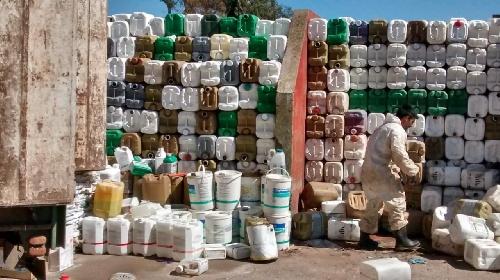 Primer traslado de envases de agroquimicos  habilitada por el OPDS