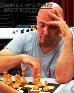 Ajedrez - Dellapittima aprovechó las tablas de Hoffman y alcanza el 1° lugar.
