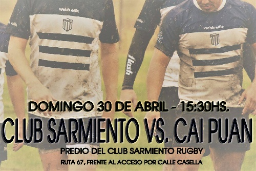 Domingo de Rugby en Club Sarmiento